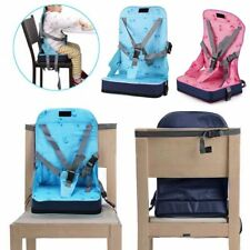 New Portable Foldable Travel Seat Booster Safety Dining High Chair Baby Toddler