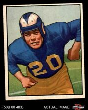 1950 Bowman #53 Dick Huffman Rams EX/MT