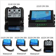 6V 12V / 12V 24V Auto Solar Panel Charge Controller Battery Charger Regulator
