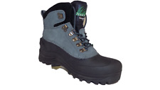 Itasca ICEBREAKER Womens Gray Suede Warm Winter Hiking Snow Boots