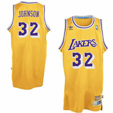 Mitchell & Ness Hardwood Classics Los Angeles Lakers MAGIC JOHNSON Jersey Yellow