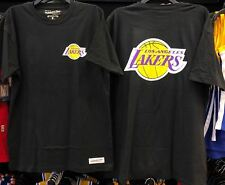 LOS ANGELES LAKERS TRIPLE DOUBLE HARDWOOD CLASSICS THROWBACK TRADITIONAL T-SHIRT