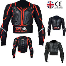 Professional Kids Children Motorcycle Armor Jacket Full Body Protection Coverage