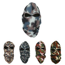 Camo Motorcycle Balaclava Winter Ski Cycling Full Face Mask Cap Hat Cover