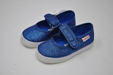 CIENTA - Blue Glitter Mary Janes Infant/Toddler Girls Shoes sizes 6/6.5 (4421)