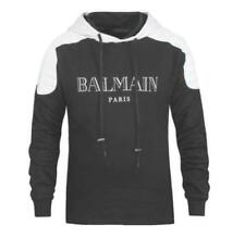 2017 Unisex Casual Balmain Letters Pattern Hoodie Classic Jacket Sports Sweater