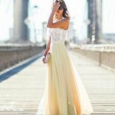 Fashion Women Formal Prom Long Dress Evening Party Cocktail Long Chiffon Dress