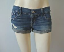 Hollister by Abercrombie Girls Low Rise Denim Short Shorts NwT 5 7 27 28
