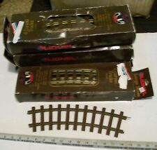 LIONEL LARGE G SCALE TRAIN BRASS TRACK 12 CURVES FOR FULL CIRCLE WITH ORIG BOXES