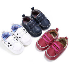 Baby Autumn Casual Shoes Boy Girl Newborn Kids Leather Crib Sole Shoe Sneakers