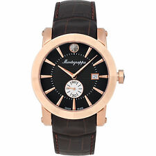 Montegrappa NeroUno Sub Seconds Men's Watch  IDNRWACB  Swiss Made vvRose Gold