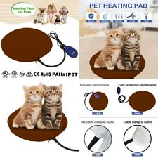 Pet Dog Electric Heating Heater Warm Mat Pad Blanket Bed Cat Heat Thermal Pillow
