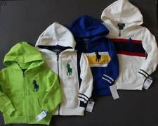 Ralph Lauren Polo Big Pony Fleece Hoodie Jacket Kids Sizes 2T 3T NWT