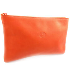 "Frandi [K0491] - Trousse à maquillage Cuir ""Frandi"" orange"