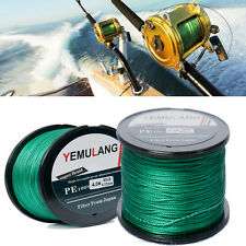 100% PE Fishing Line 100M 300M 500M 1000M Spectra Dyneema Braid Green Line