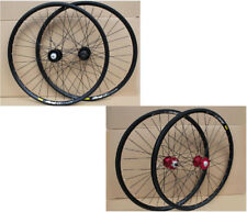 "Mavic 319 Rims Novatec MTB Mountain Bike 27.5"" F&R Disc Wheelset Wheels NEW"