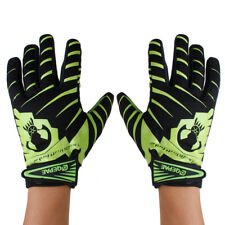Perfeclan Bicycle Skeleton Skull Pattern Full Finger Warm MTB Gloves Silicon