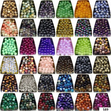 Hot natural gemstone Round Stone spacer loose beads 4mm 6mm 8mm 10mm