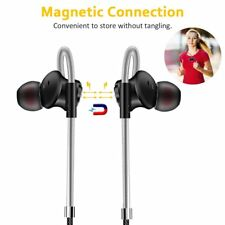 NEW W3 Magnetic In-ear Earphone Super Bass Music+Mic Stereo Earbud Headset AT