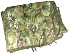 Poncho Liner Woobie Blanket US Military Woodland Tri-color Camo Army excellent