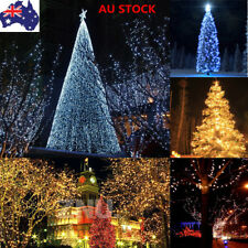 Solar Powered 60-200 LED String Fairy Light Outdoor Xmas Party Decor Waterproof