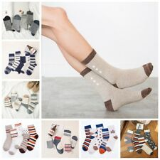 5 Pairs Fashion Men's Cotton Socks Casual Breathable Pattern Socks One Size