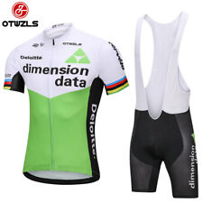 2018 Pro team cycling jersey sets 20D Gel Pad bib shorts Ropa Ciclismo