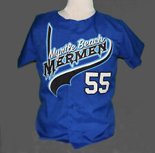 KENNY POWERS MYRTLE BEACH MERMEN BASEBALL JERSEY - EASTBOUND and DOWN TV SHOW