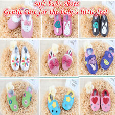 Leather Baby Shoes Prewalker Boy Girl Soft Infant Sole Toddler Boots Crib Kids