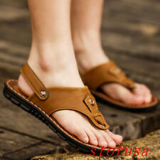 Summer Men Flip Flop Thong Sandals Casual Beach Shoes Korean Style Fashion Size