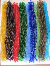 Bulk/Wholesale 1 Strand 8mm Round Glass Faceted Beads (Approx 44 Beads)