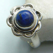 LAPIS LAZULI RING SOLID 925 STERLING SILVER LAPIS RING CUSTOM SIZE US 3 TO 13
