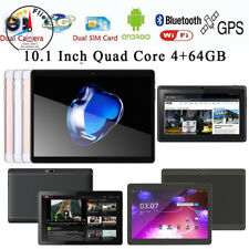 "10.1'' 7"" Game Tablet PC Android6.0 Octa Core 4+64GB Dual SIM HD Wifi+3G Phablet"