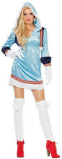 Sexy Inuit Lady Eskimo Costume NEW - Ladies Carnival Fancy Dress