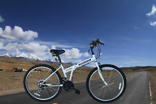 "21 Speed  26"" Folding Mountain Bike Shimano Hybrid Foldable Bicycle School Sport"