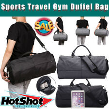 Mens Large Sports Duffle Bag Travel Gym Handbag Shoulder Bag Waterproof Luggage