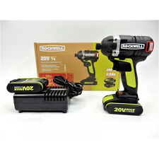 Rockwell RK2868K2 20-Volt Lithium-Ion 1/4 in. Hex Cordless Brushless Impact Driv