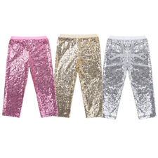 Kids Baby Girl Sequins Clothes Bottoms Leggings Party Dance Pants Trousers 12M-8