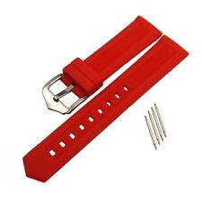 16-22mm Replacement Silicone Rubber Sports Watch Band Bracelet for Smart Watch