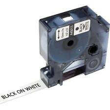 Compatible for DYMO D1 45013 Black on White 12mm Label Tape LabelManager 160