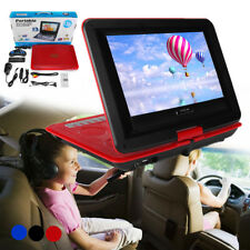13.8'' Portable DVD Player EVD TV Game Swivel Screen Remote Control USB SD Card