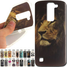 Protective Back TPU Silicone Rubber Gel IMD Soft Case Cover Skin For LG K7(2016)