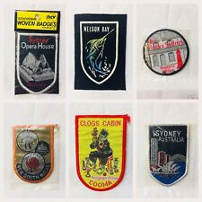 Vintage Souvenir Patch - New South Wales places - FREE POST IN AUSTRALIA