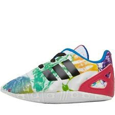 ADIDAS ORIGINALS BABY GIRL ZX FLUX CRIB TRAINERS - NEW AND BOXED
