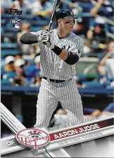 (20) AARON JUDGE 2017 Topps Update BASE ROOKIE LOT (x20) Cards Yankees US99
