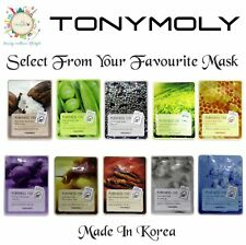 [TONYMOLY]-Pureness 100 Mask Sheet-{Made in Korea}-Select From 1/6/8/10 Mask