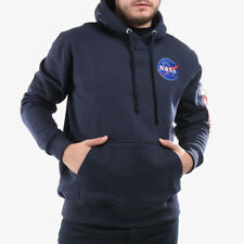 MEN'S HOODIE SNEAKERS ALPHA INDUSTRIES NASA SPACE [178317 07]