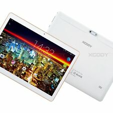 XGODY 10.1'' 32GB 3G Phone Call Quad Core 2xSIM Android Tablet PC HD Touchscreen