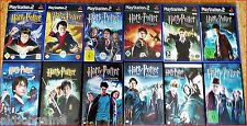 PS2/PSX/PS2 Harry Potter All 7 PS2 & PSX Games Game of Choice