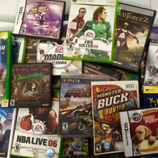Pick Your Game From Nintendo Wii, Gamecube, DS, GBA, Xbox 360, One, ETC.....